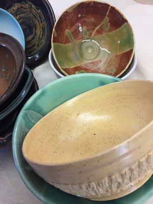 The 2018 Empty Bowls Soup Supper Empty Bowls