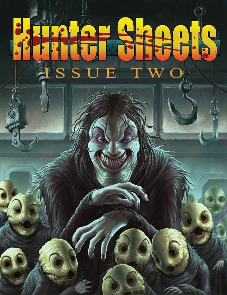 Hunter Sheets Issue Two: SLA Industries RPG - Daruma Productions