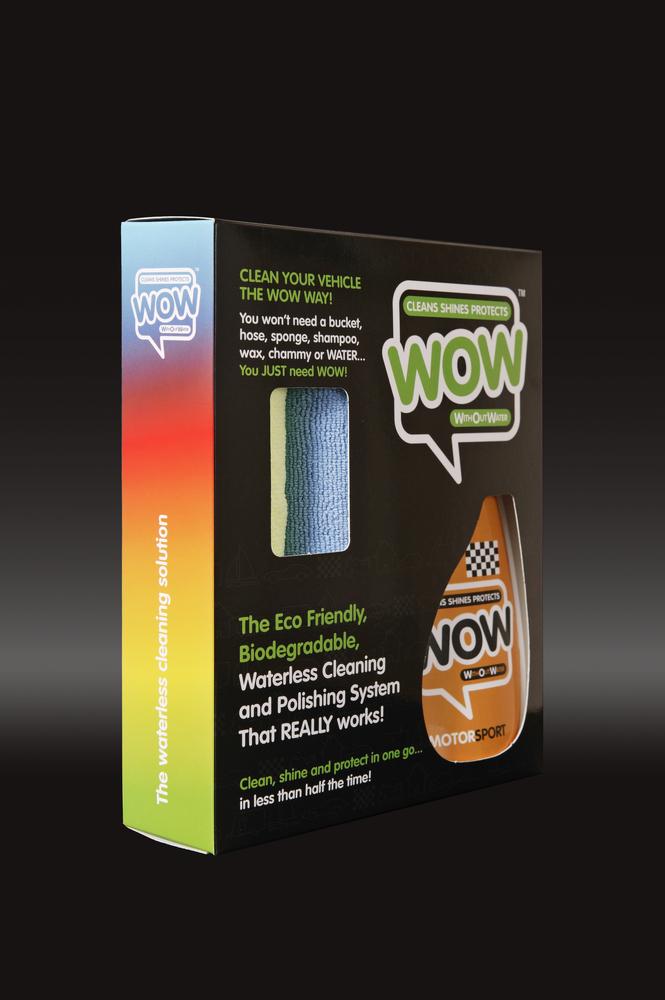WOW™ 500ml Motorsport Box Kit