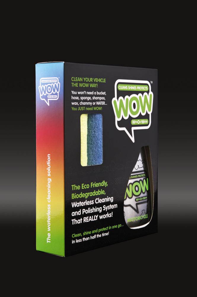 WOW™ 500ml Motorcycle Box Kit
