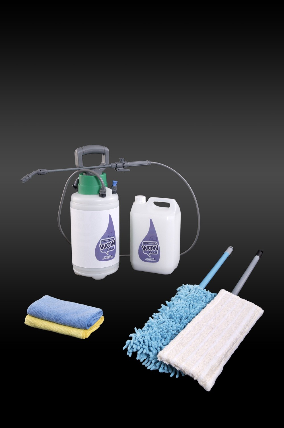 WOW™ 5 Litre Caravan & Motorhome Spray Kit