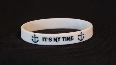 It's My Time wristband