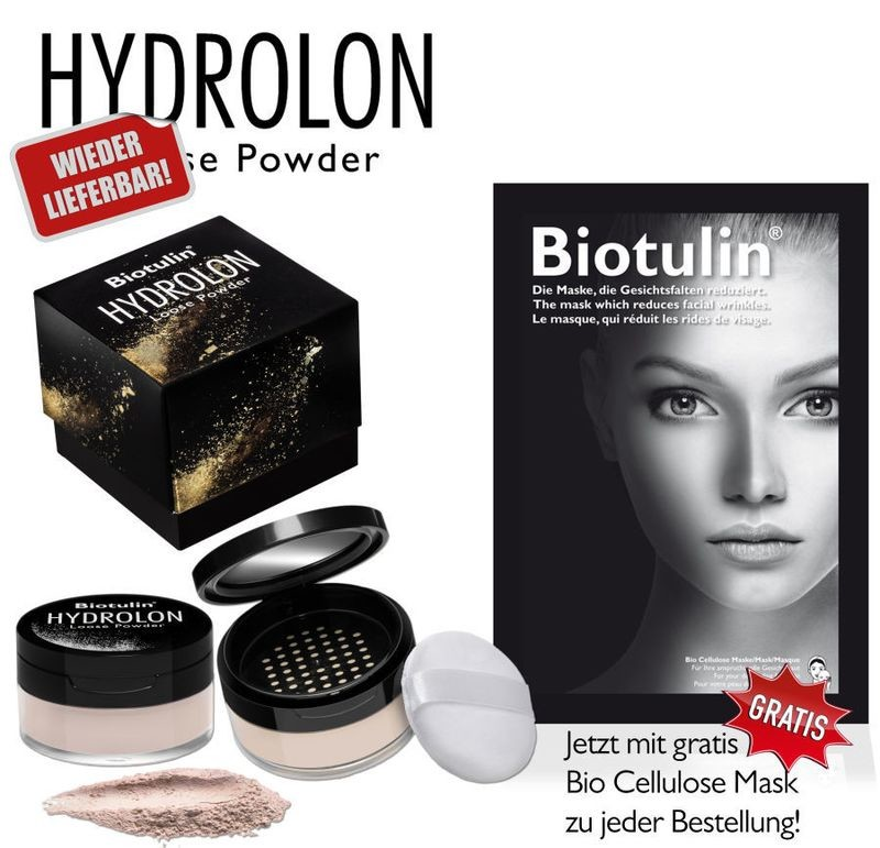 15ebcca90ce41d HYDROLON Loose Powder   Gratis Maske