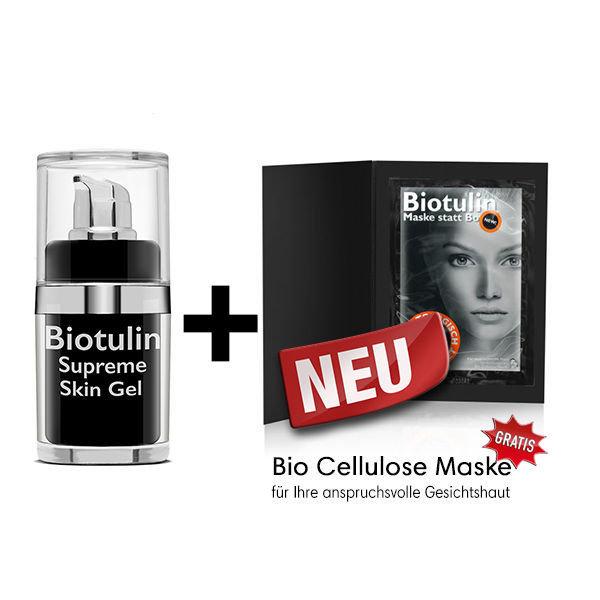 Biotulin Supreme Skin Gel 15 ml*  & Bio Cellulose Maske BIO00013
