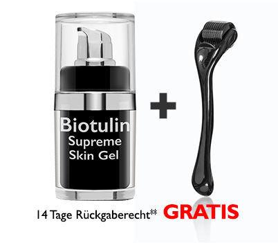 Biotulin Supreme Skin Gel 15ml* & Gratis SkinRoller BUR00015