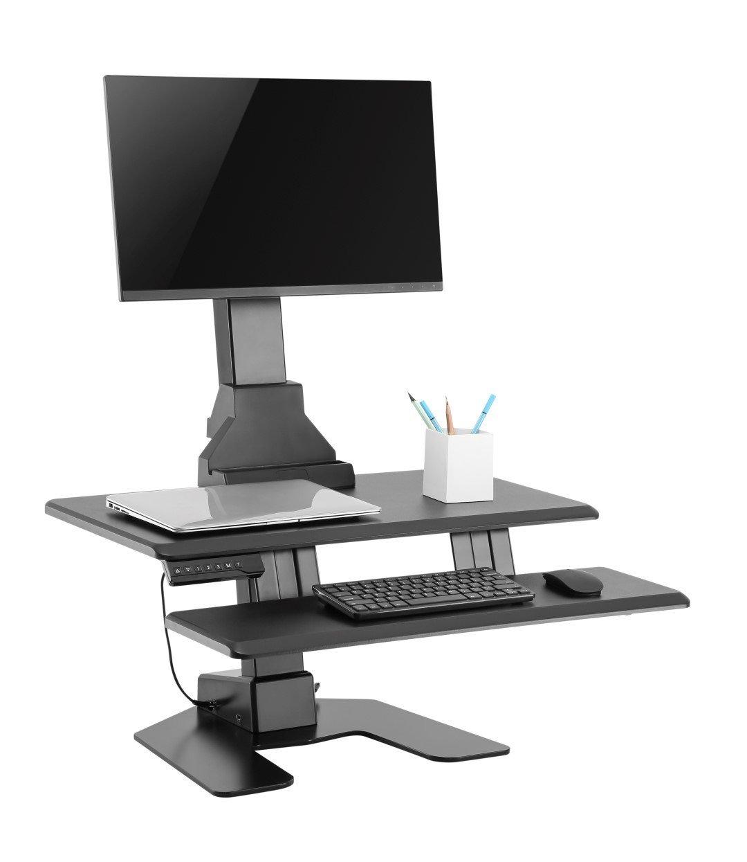 E-Lift S   Electric Sit Stand Desktop Unit