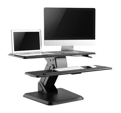 M-Lift | Manual Sit Stand Desktop Unit