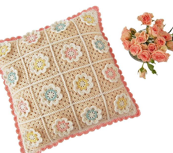 CROCHET PATTERN: Florina Pillow