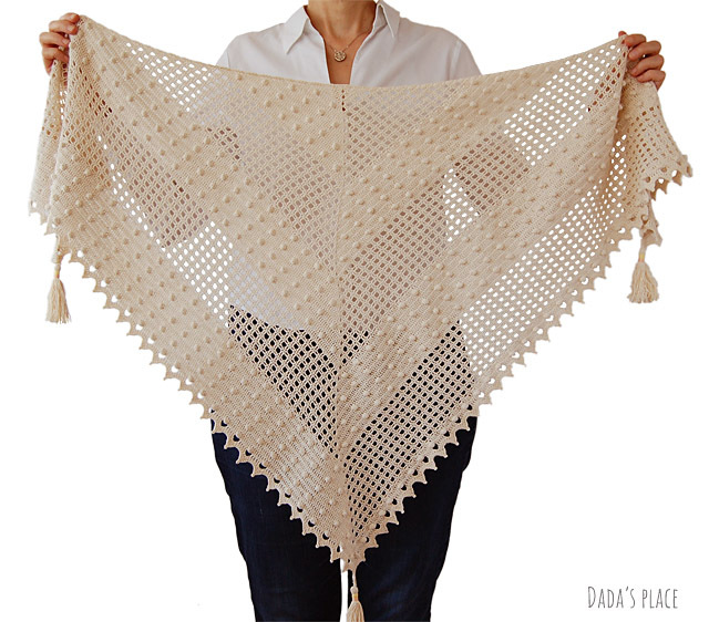 CROCHET PATTERN: Awana Shawl 00035