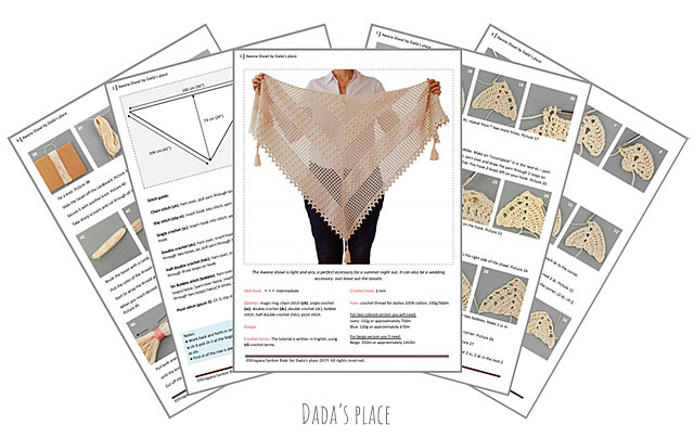 CROCHET PATTERN: Awana Shawl