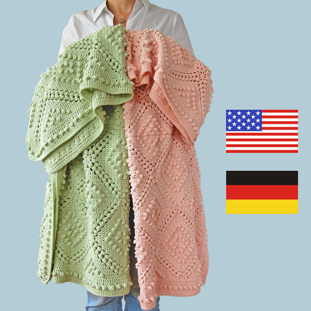 CROCHET PATTERN: Fenya Blanket 00028