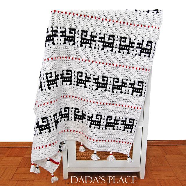 CROCHET PATTERN: Timi Blanket