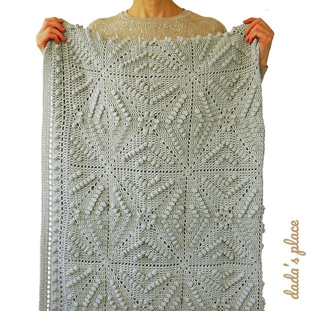 CROCHET PATTERN: Menya Blanket