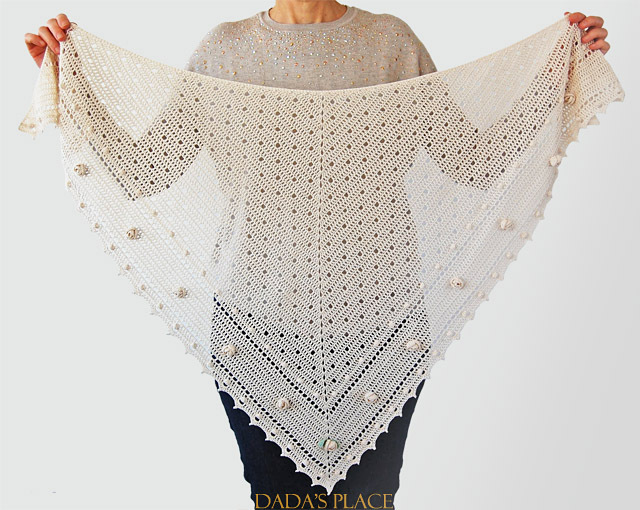CROCHET PATTERN: Summerhill Shawl
