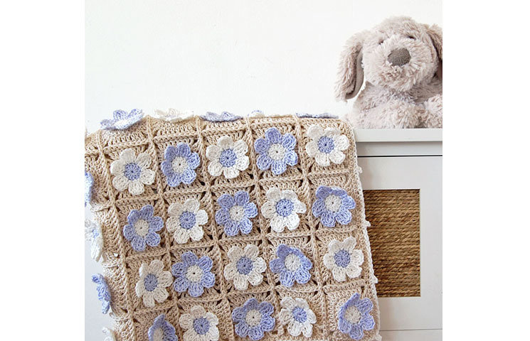 CROCHET PATTERN: Guess How Much I Love You Baby Blanket