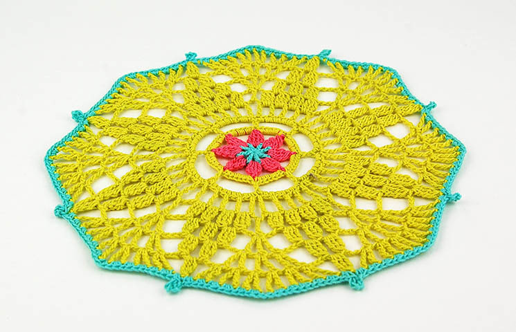 CROCHET PATTERN: Follow Me Doily