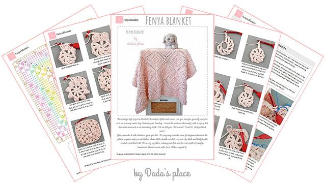 CROCHET PATTERN: Fenya Blanket