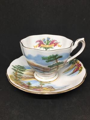 Queen Anne Robert Burns Tea Cup