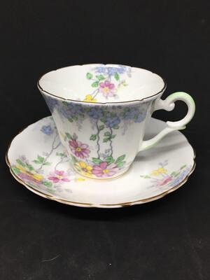 Wellington Floral Tea Cup
