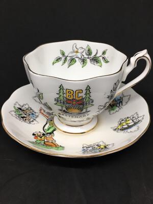 Queen Anne BC Centennial 1958 Tea Cup