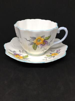 Paragon Lace Edged Tea Cup