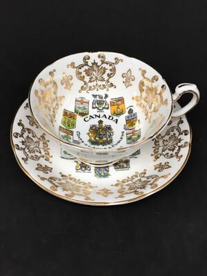 Paragon 'Canada Coat Of Arms' Tea Cup