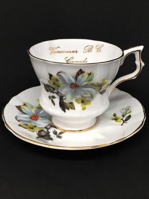 Royal Gregg Dogwood Vancouver Tea Cup