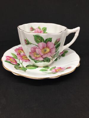 Windsor 'Alberta Wild Rose' Tea Cup