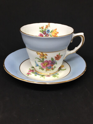 Sutherland '2630' Blue Band Teacup