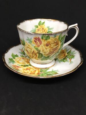 Royal Albert '839056' Yellow Roses Teacup