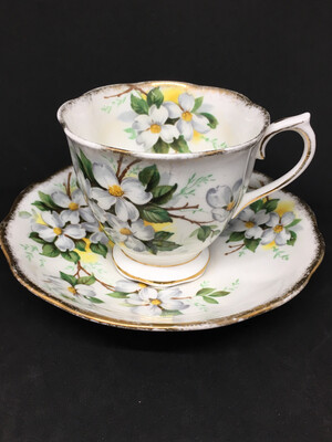 Royal Albert 'White Dogwood' Teacup