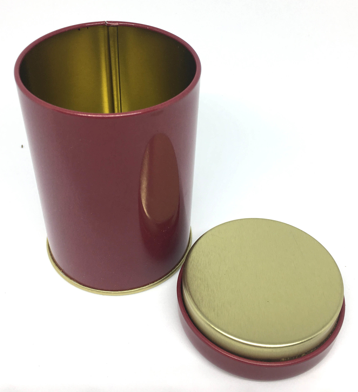 Empty Tea Tin