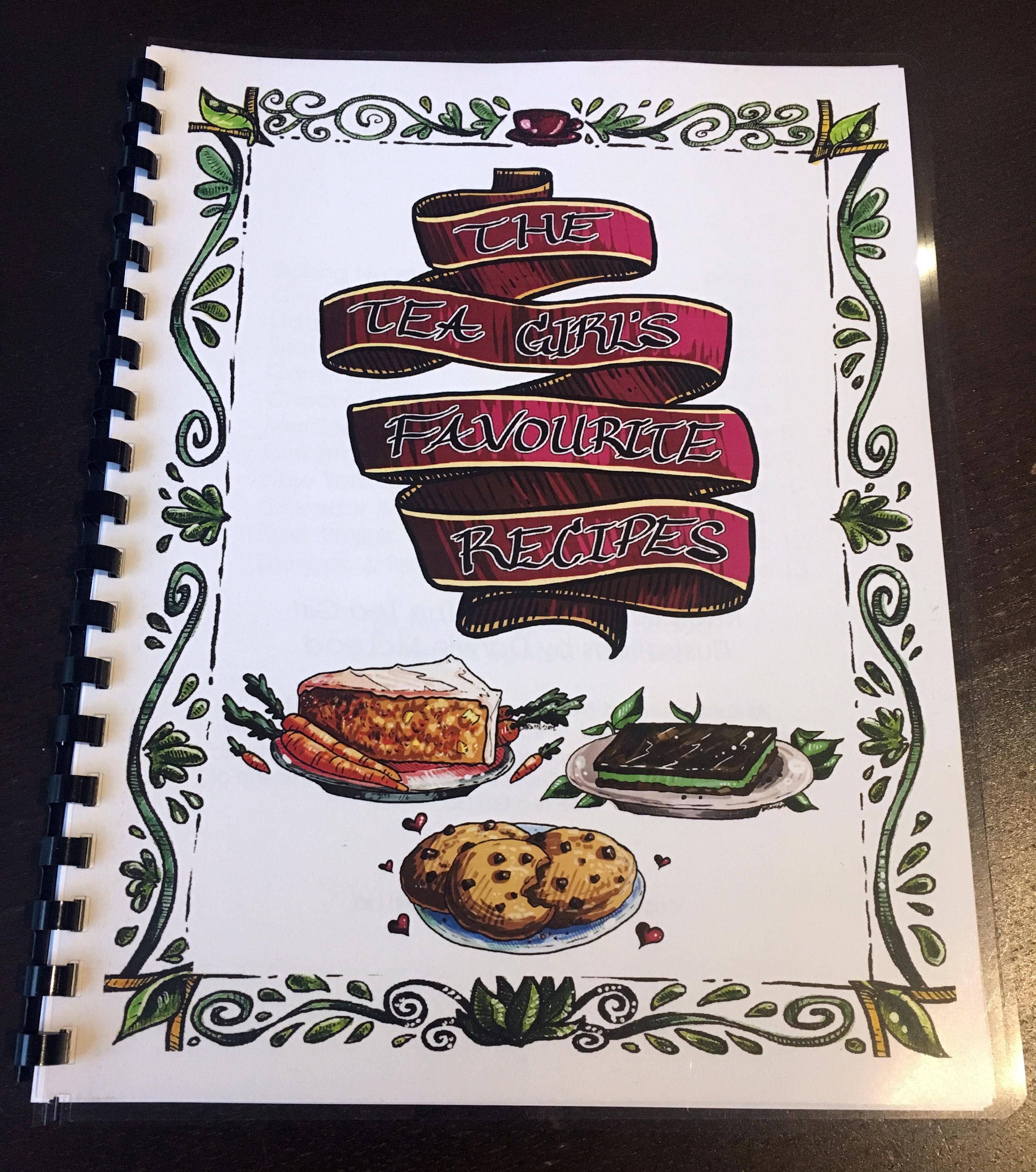 The Tea Girl recipe book 08044