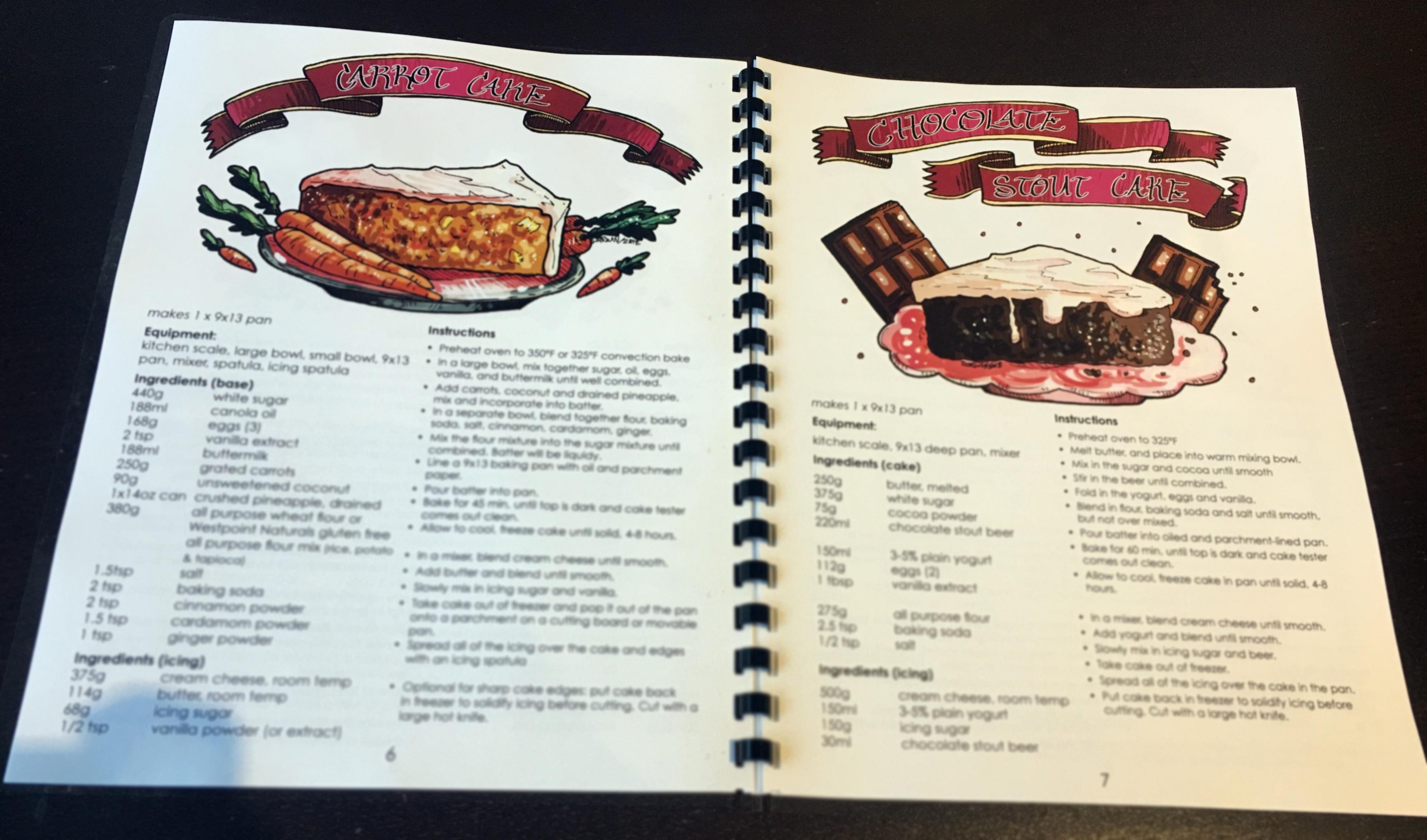 The Tea Girl recipe book
