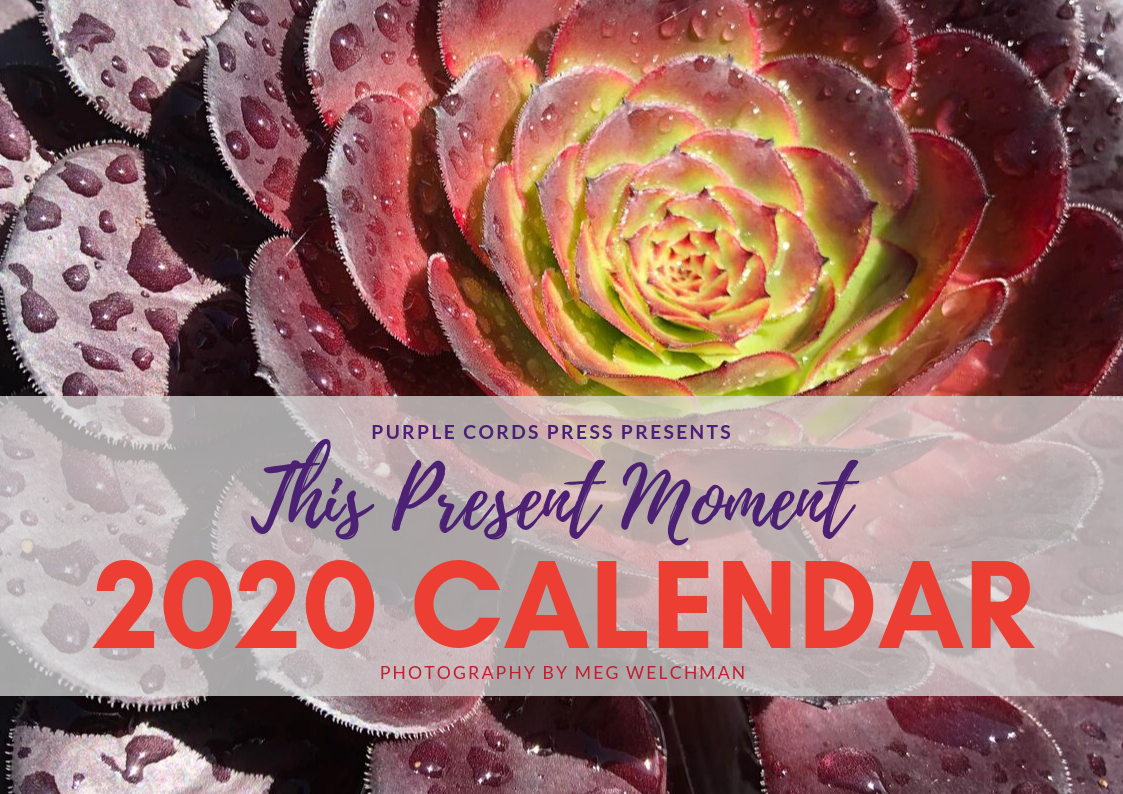 2020 This Present Moment Calendar