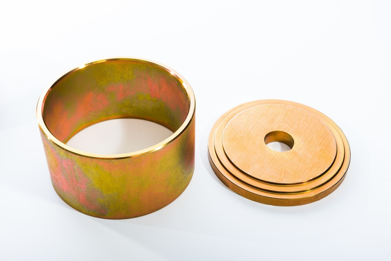 """EXTRA RING AND PLATE 4.5"""" FOR WHEEL BEARING"""