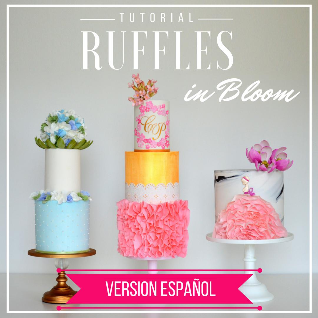 """Tutorial """"Ruffles in Bloom"""" EN ESPAÑOL"""