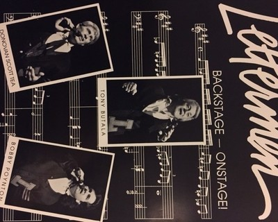 Lettermen Backstage/Onstage Booklet - Proceeds go to the Star