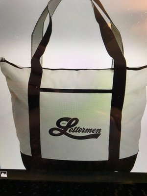 Lettermen Tote Bag - All proceeds go to the Star