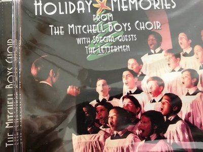 Factory Sealed Holiday Memories from Mitchell Boys Choir with special guests The Lettermen