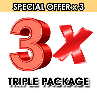 Triple Package Special Offer.