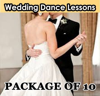 Wedding Dance Lesson. Package of 10