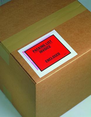 3M Full Face Printed Packing List Envelopes V