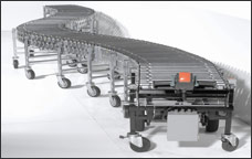 Nestaflex 1.5 Power Elite All Roller Power Conveyors