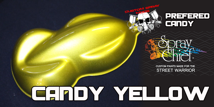 Candy Yellow Spray Paint Part - 41: Candy Paint In A Spray Can