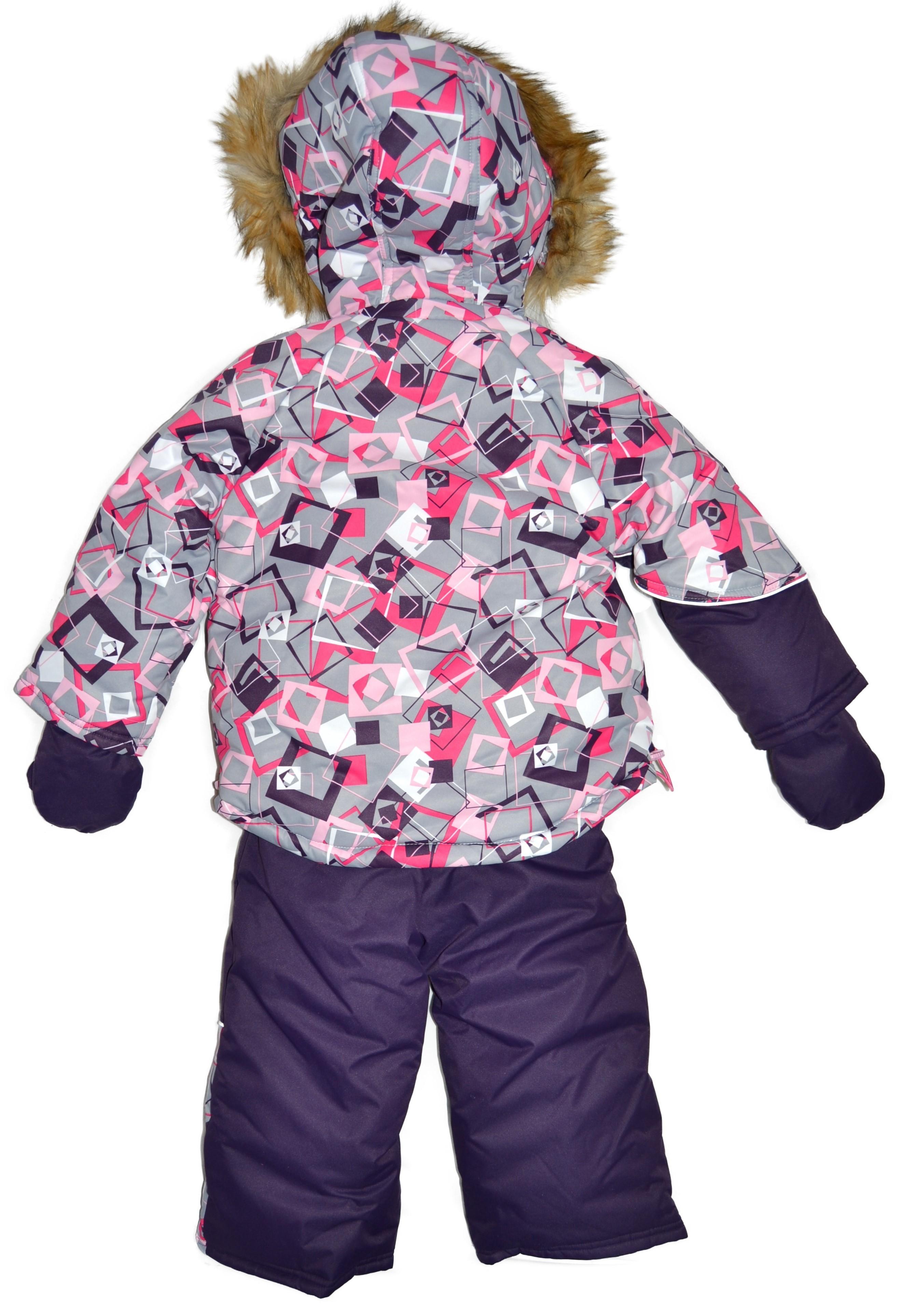 Комбинезон зимний для мальчиков и девочек