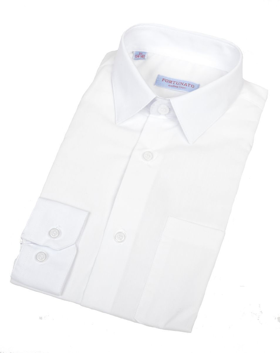 Сорочка мальчик, короткий рукав, белый. Артикул: DS00C82DN001AFR_DS