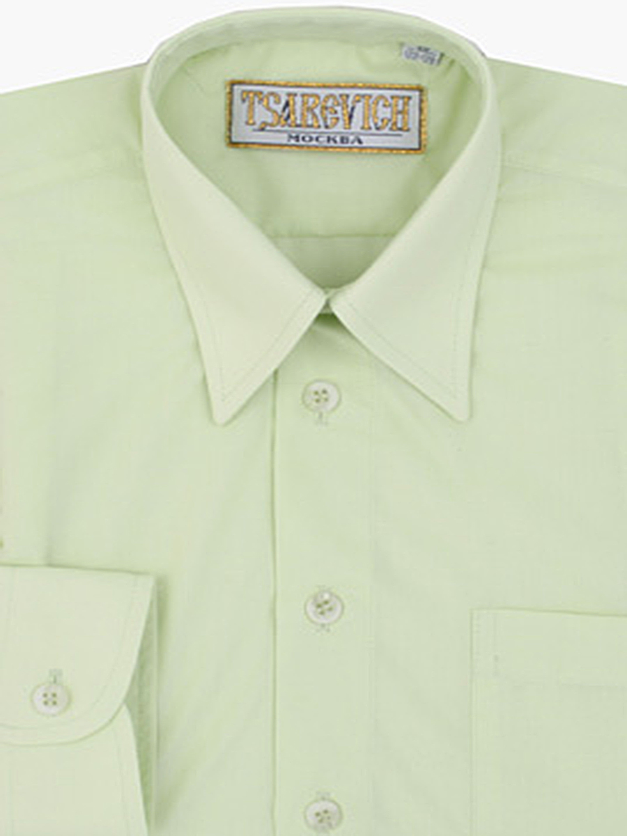 Сорочка мальчик, длинный рукав, зеленый. Артикул: Lime 26/764 BSLime 26-764