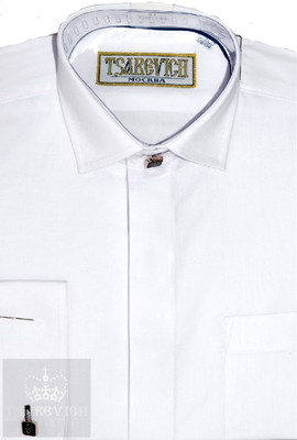 Сорочка мальчик, длинный рукав, белый. Артикул: PT2000-BB