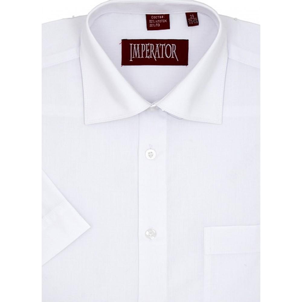Сорочка мальчик, длинный рукав, приталенная, белый. Артикул: PT2000SL BSPT2000SL